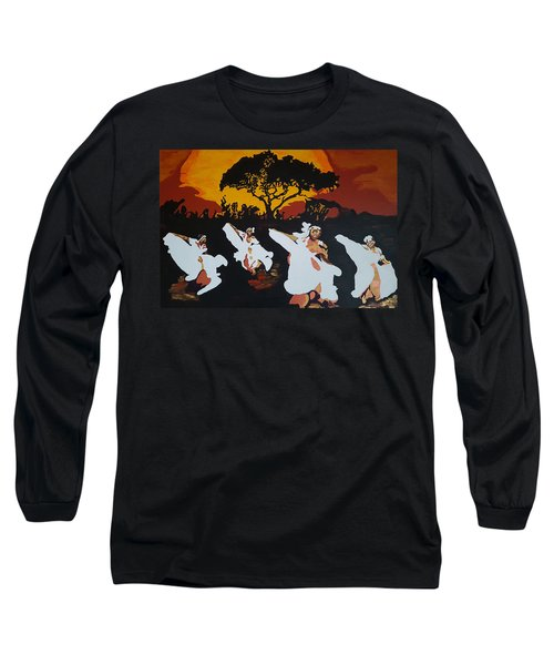 Afro Carib Dance Long Sleeve T-Shirt