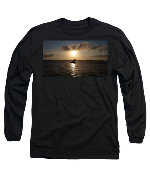 After A Long Day Of Fishing Long Sleeve T-Shirt