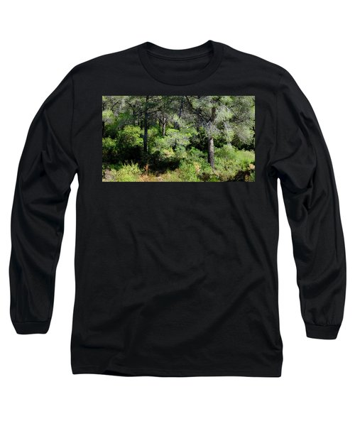 Long Sleeve T-Shirt featuring the photograph After Summer by August Timmermans