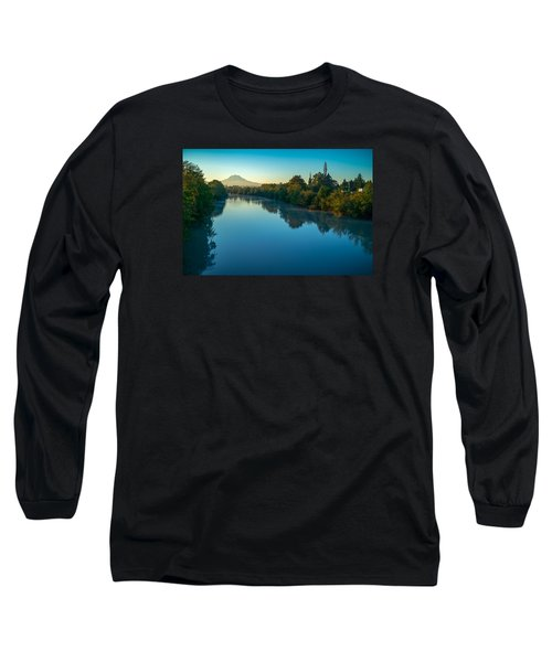 After Sunrise Long Sleeve T-Shirt by Ken Stanback