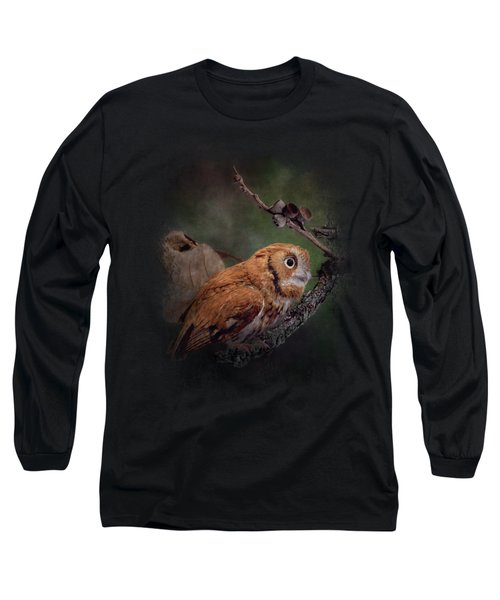 After The Acorns Fall Long Sleeve T-Shirt by Jai Johnson