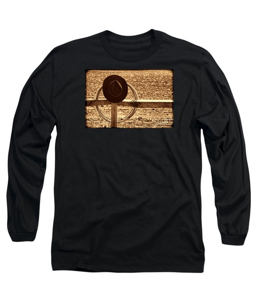 After The Drive Long Sleeve T-Shirt by American West Legend By Olivier Le Queinec