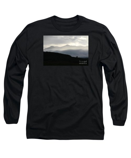 Long Sleeve T-Shirt featuring the photograph The Quiet Spirits by Ann E Robson