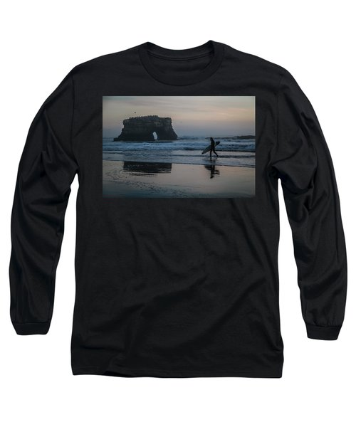 Long Sleeve T-Shirt featuring the photograph After The Set by Lora Lee Chapman
