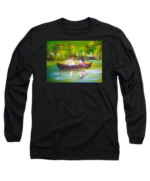 Afternoon By Colleen Ranney Long Sleeve T-Shirt