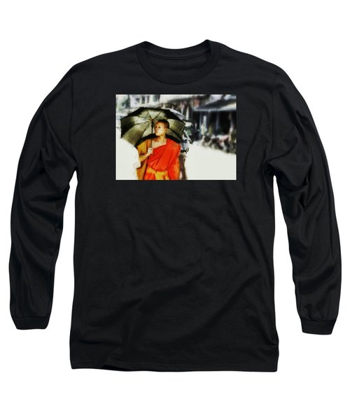 Long Sleeve T-Shirt featuring the digital art Afternoon In Luang Prabang by Cameron Wood