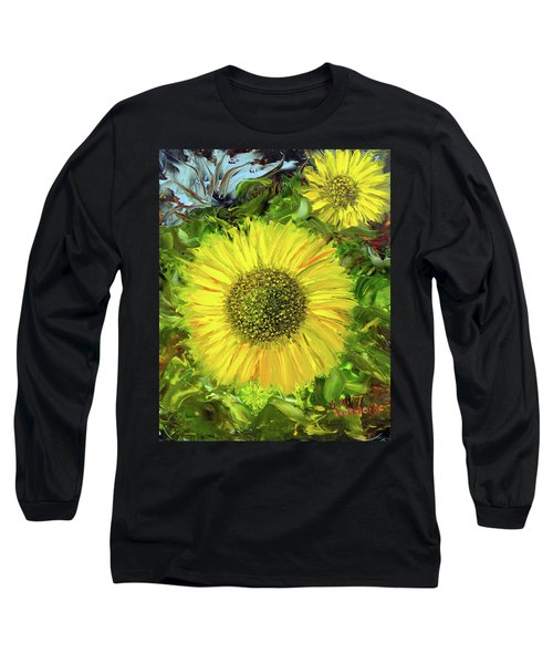 Afternoon Sunflowers Long Sleeve T-Shirt