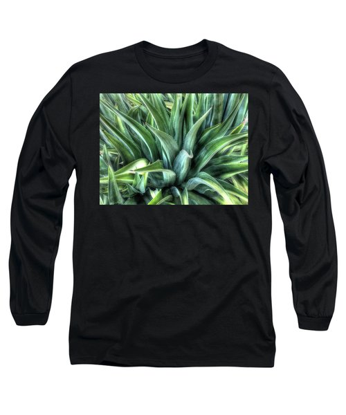 Long Sleeve T-Shirt featuring the photograph Agave by Lynn Geoffroy