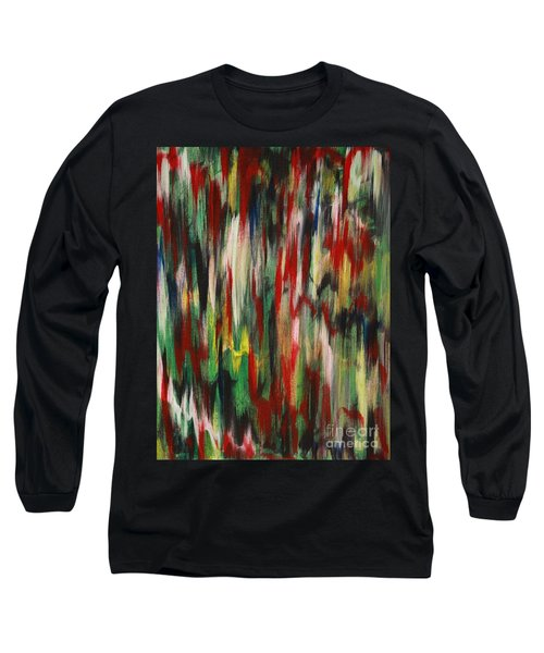 Long Sleeve T-Shirt featuring the painting Agony by Jacqueline Athmann