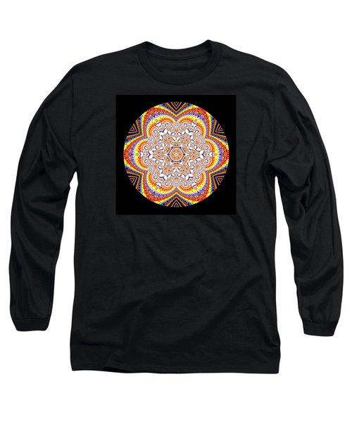 Long Sleeve T-Shirt featuring the digital art Ahau 6.2 by Robert Thalmeier