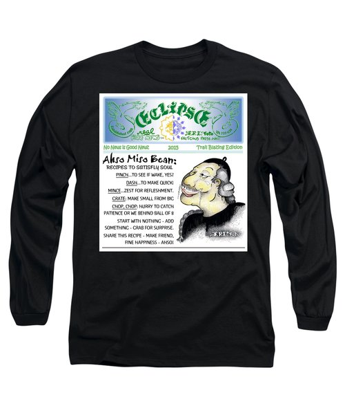 Real Fake News Recipe Column 1 Long Sleeve T-Shirt