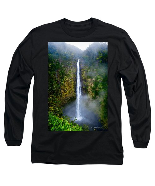 Akaka Falls Long Sleeve T-Shirt by Christopher Holmes