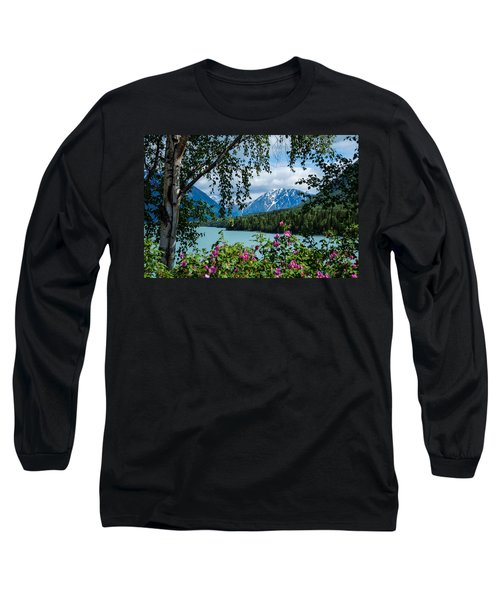 Alaska Through The Trees Long Sleeve T-Shirt