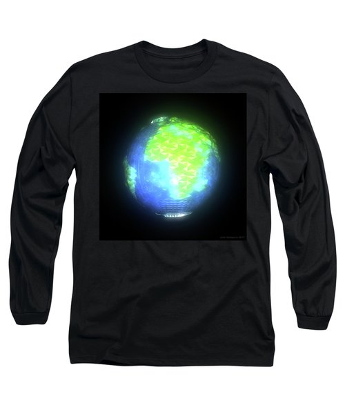 Albedo - Africa And Europe By Day Long Sleeve T-Shirt