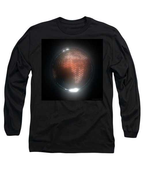 Albedo - Africa And Europe By Night Long Sleeve T-Shirt
