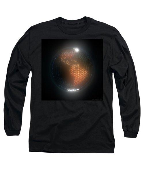 Albedo - Americas By Night Long Sleeve T-Shirt