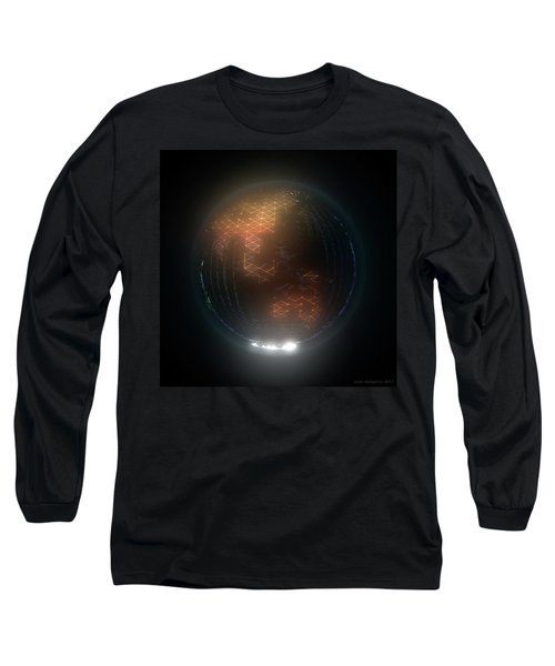 Albedo - Asia And Australasia By Night Long Sleeve T-Shirt