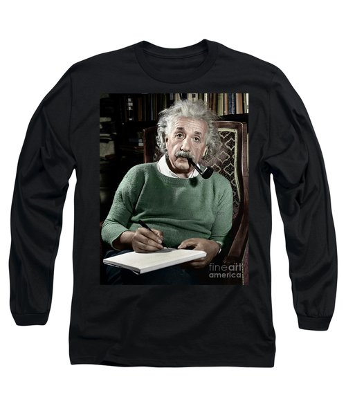 Albert Einstein - To License For Professional Use Visit Granger.com Long Sleeve T-Shirt