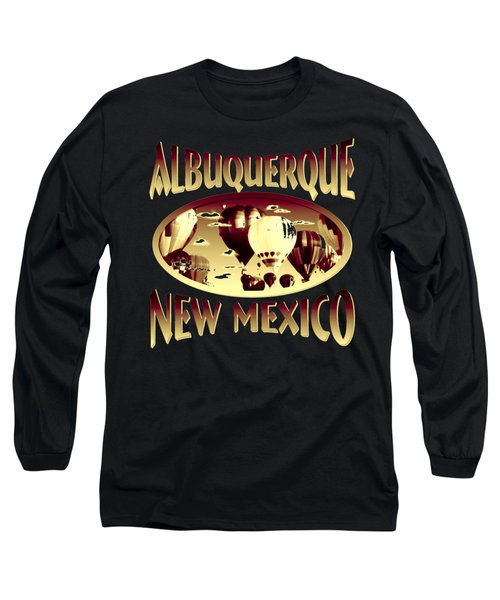 Albuquerque New Mexico Design Long Sleeve T-Shirt
