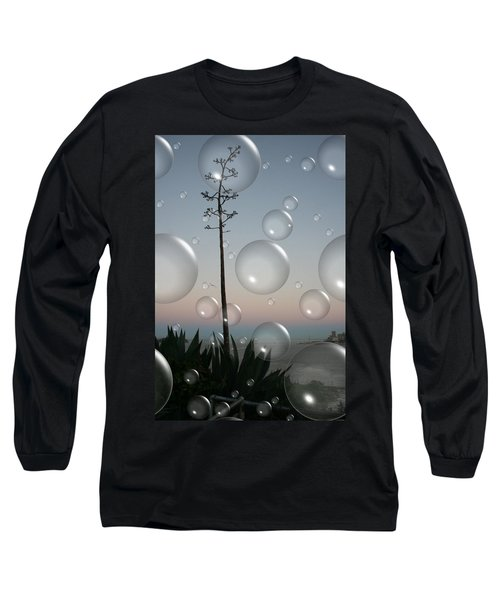 Alca Bubbles Long Sleeve T-Shirt by Holly Ethan