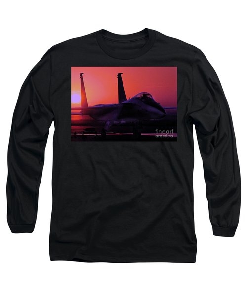 Long Sleeve T-Shirt featuring the photograph Alert 1 by Greg Moores