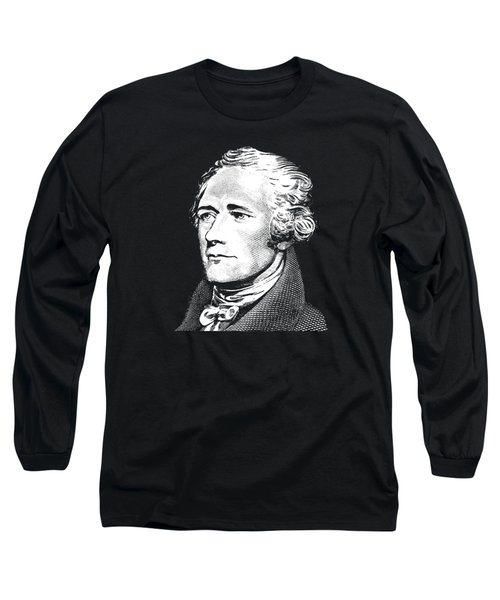 Alexander Hamilton - Founding Father Graphic 2 Long Sleeve T-Shirt