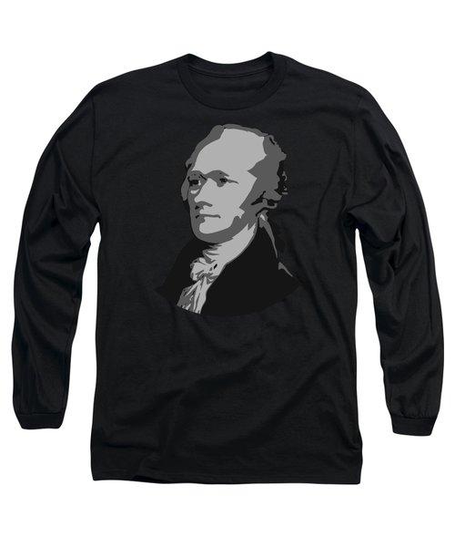 Alexander Hamilton Graphic Long Sleeve T-Shirt