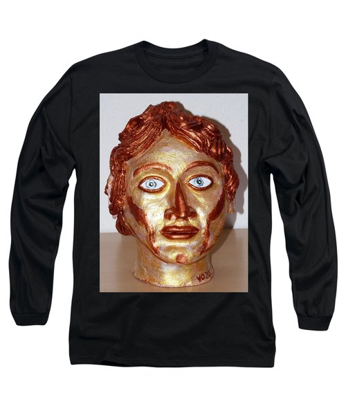 Alexander The Great Long Sleeve T-Shirt by Valerie Ornstein