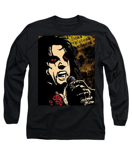 Alice Cooper Illustrated Long Sleeve T-Shirt