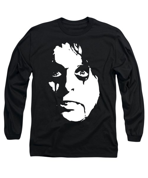 Alice Cooper Pop Art Long Sleeve T-Shirt
