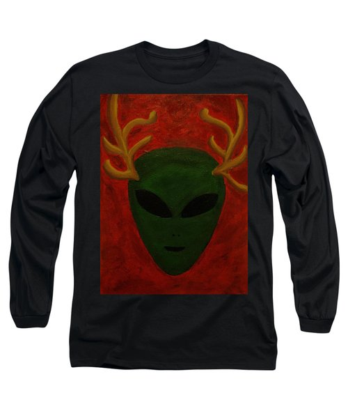 Alien Deer Long Sleeve T-Shirt