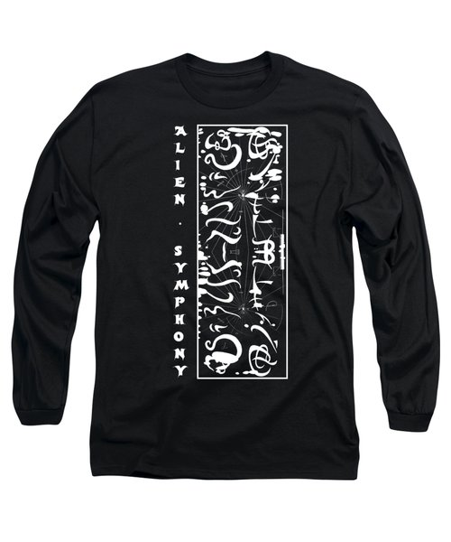Alien Symphony T Shirt Long Sleeve T-Shirt