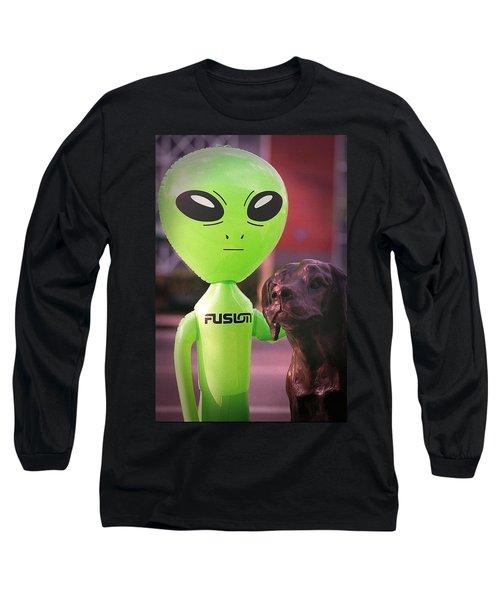 Alien's Best Friend Long Sleeve T-Shirt