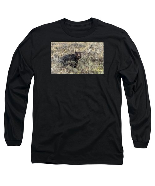 Long Sleeve T-Shirt featuring the photograph All Alone by Yeates Photography