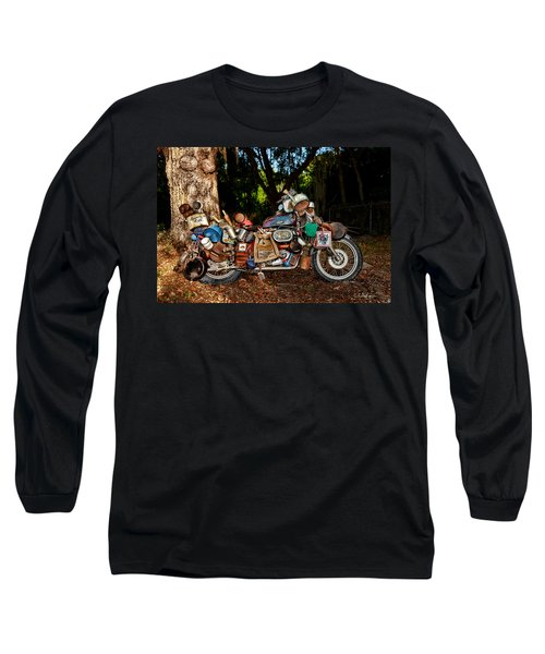 All But The Kitchen Sink Long Sleeve T-Shirt by Christopher Holmes