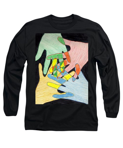 All In Long Sleeve T-Shirt by Jean Haynes