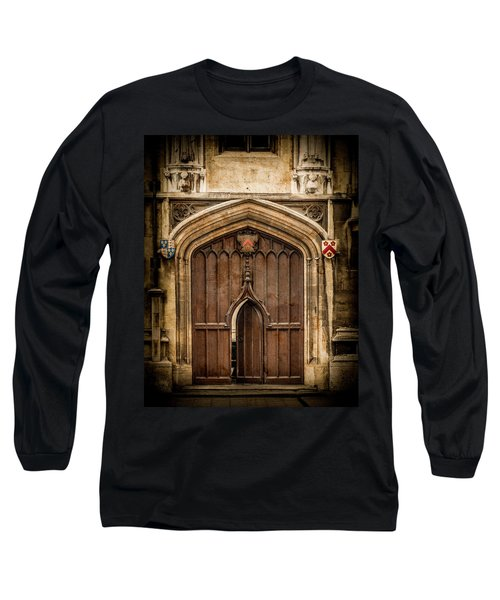 Oxford, England - All Souls Gate Long Sleeve T-Shirt