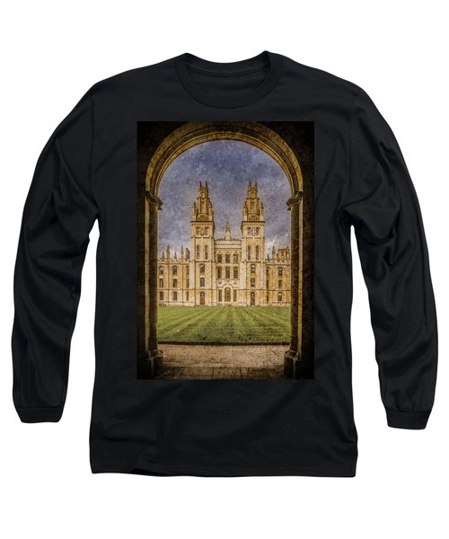 Oxford, England - All Soul's Long Sleeve T-Shirt
