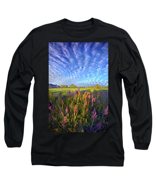 Long Sleeve T-Shirt featuring the photograph All Things Created And Held Together by Phil Koch