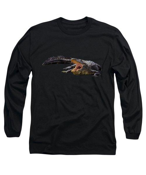 Alligator In Florida Long Sleeve T-Shirt