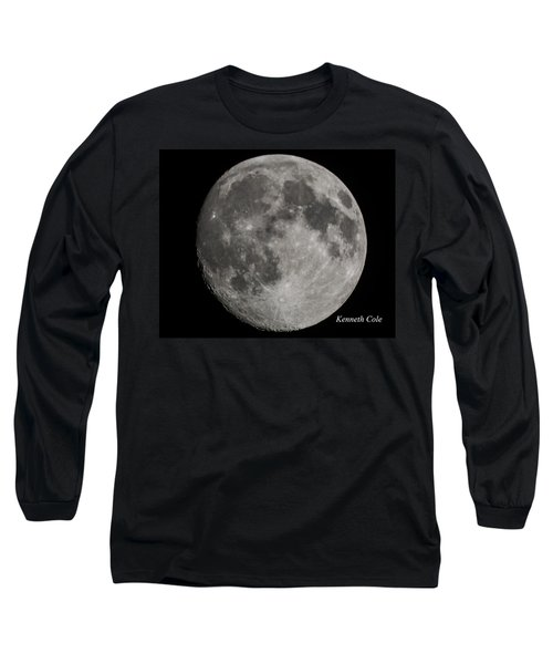 Almost Full Moon Long Sleeve T-Shirt by Kenneth Cole