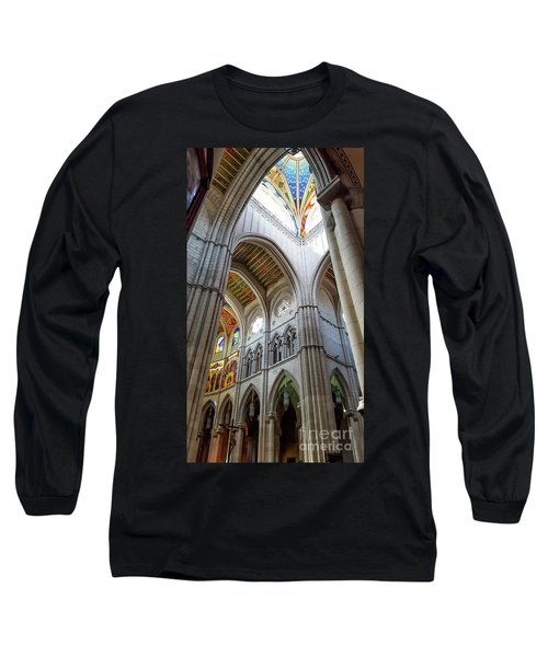 Almudena Cathedral Interior In Madrid Long Sleeve T-Shirt