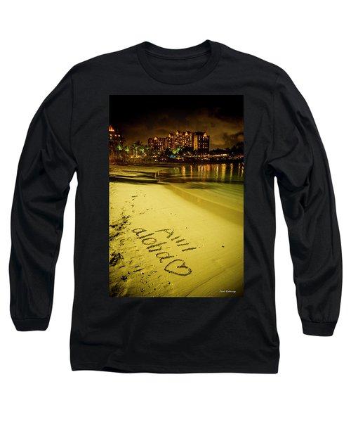 Ami Aloha Aulani Disney Resort And Spa Hawaii Collection Art Long Sleeve T-Shirt