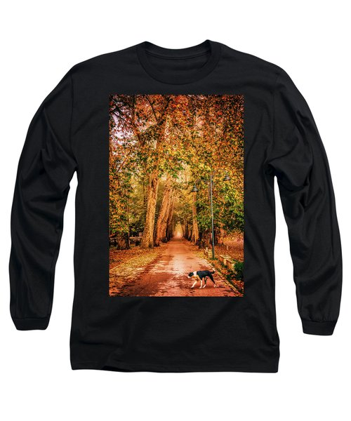 Alone Dog Long Sleeve T-Shirt