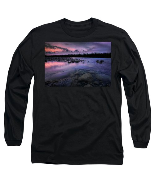 Along The Athabasca Long Sleeve T-Shirt