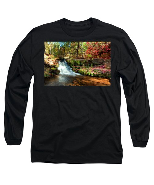 Long Sleeve T-Shirt featuring the photograph Along The Horton Trail by Anthony Citro