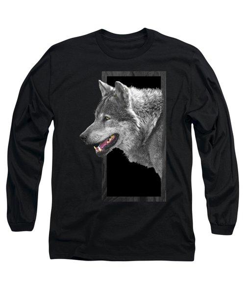 Alpha Male Wolf - You Look Tasty Long Sleeve T-Shirt