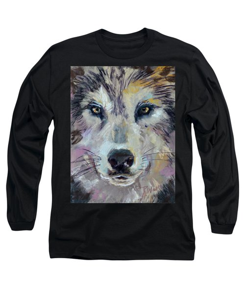 Alpha Long Sleeve T-Shirt by Pattie Wall