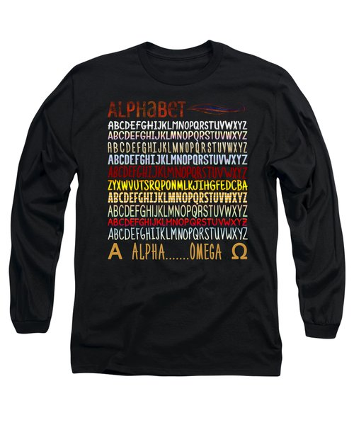 Alphabet Long Sleeve T-Shirt