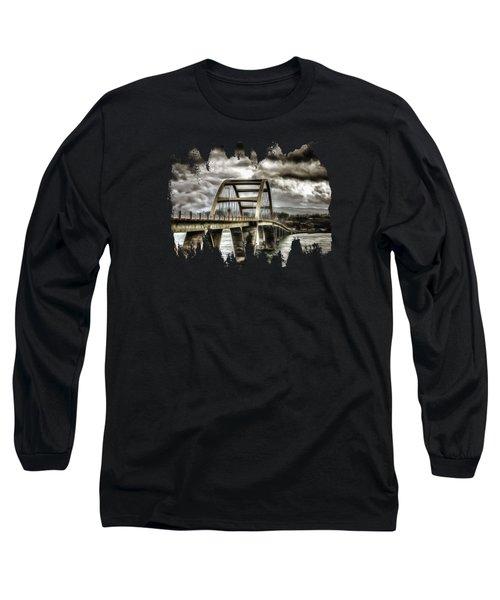 Alsea Bay Bridge Long Sleeve T-Shirt